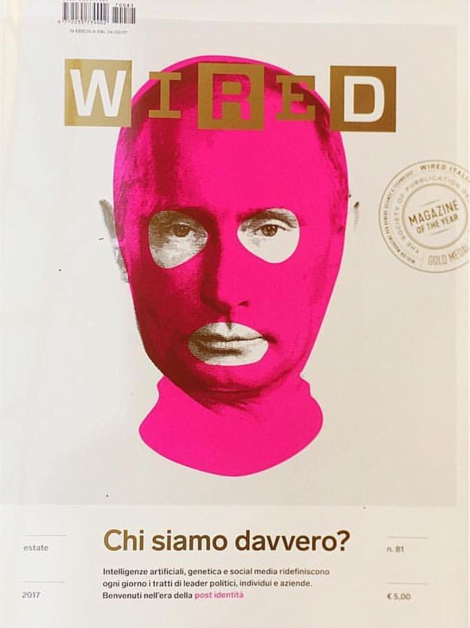 WIRED Italy magazine cover. | Best of Editorial Design | Pinterest ...