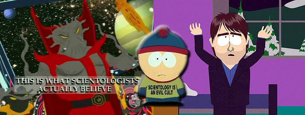 south park this is what scientologists actually believe