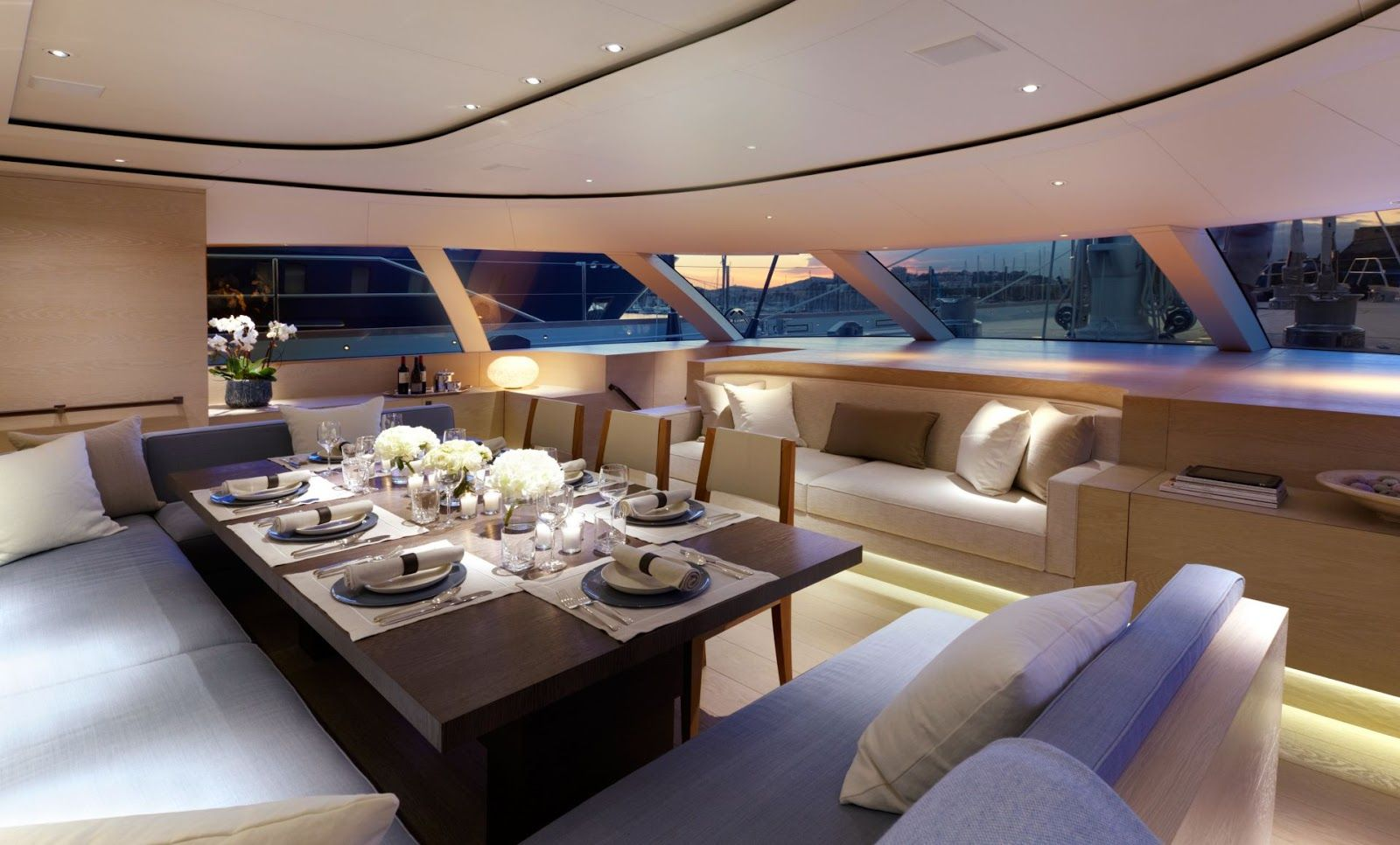 Luxury superyacht keyla interior by hot lab luxury yacht charter - Luxurious Interior Design Of A Sailing Yacht Luxury Boats Pinterest Luxury Yachts Luxury Yacht Interior And Luxury Boats