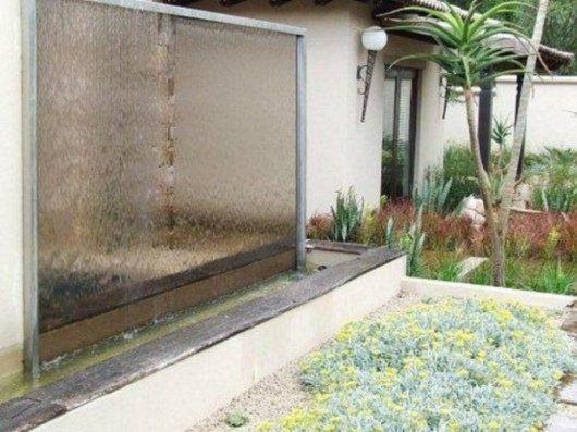 48 idées d\'un mur d\'eau original pour votre jardin