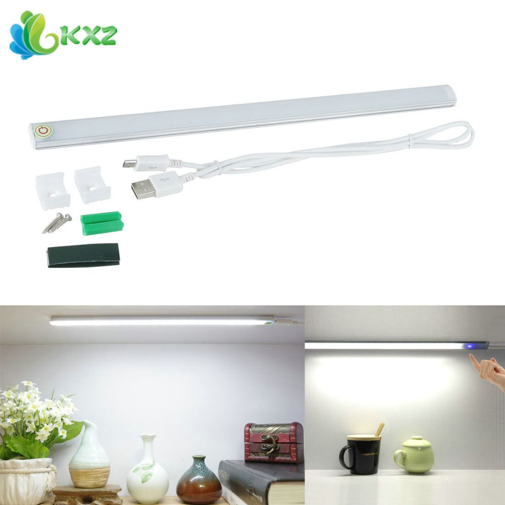 Dimmable Usb 21 Led Touch Sensor Light Bar Drawer Cabinet Wardrobe Closet Kitchen Bedroom Camping Nightlight Led Tube Night Lamp Bed Lamp Night Light Tube Lamp