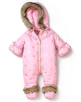 Juicy Couture Snowsuit For Baby Baby Girl Clothes Baby Snowsuit Juicy Couture Baby
