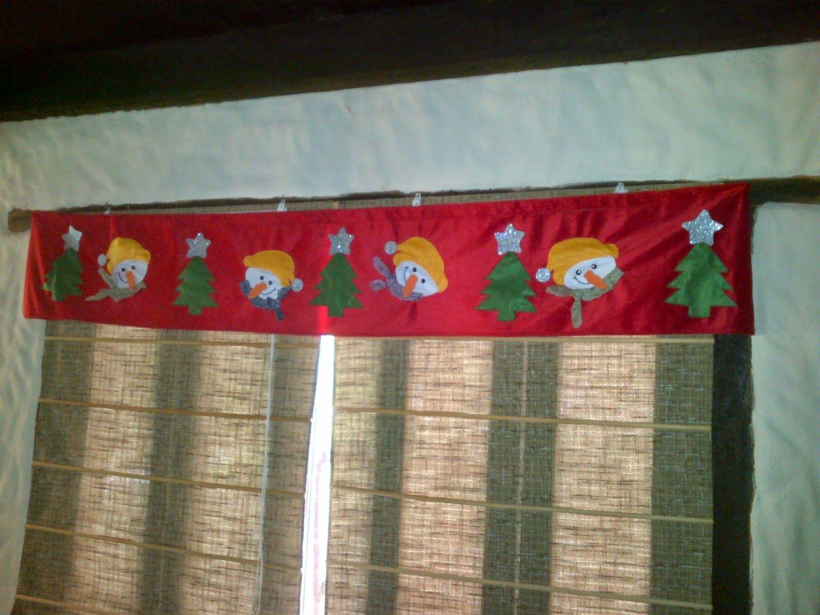 Resultado de imagen para cortinas navide as con luces - Apliques para cortinas ...
