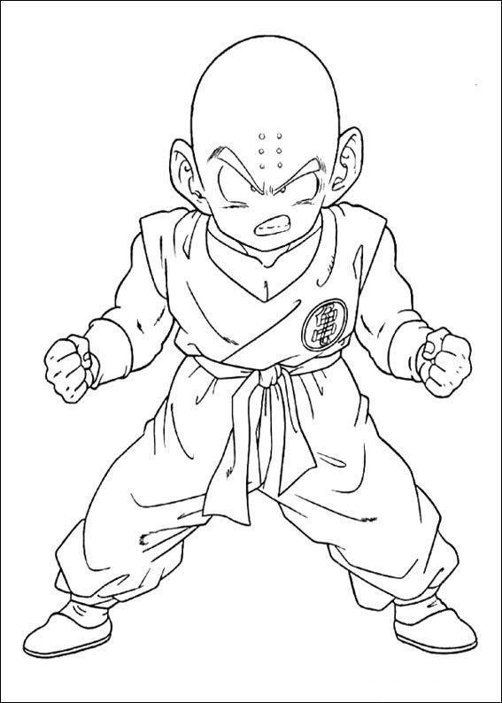 Dragon Ball Z Ausmalbilder. Malvorlagen Zeichnung druckbare nº 84 ...
