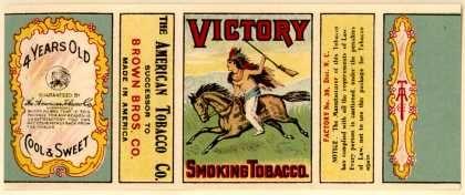 American Tobacco Co 's Smoking Tobacco – Victory | Tobacco