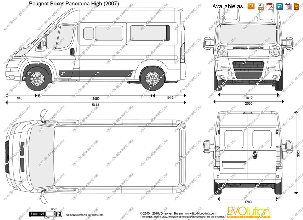 Image Result For Peugeot Boxer Medium Wheel Base Vans  # Muebles Para Peugeot Boxer