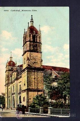 TARJETA POSTAL DE MATANZAS - CATEDRAL. 9004 (Postales - Postales Extranjero - América - Cuba)