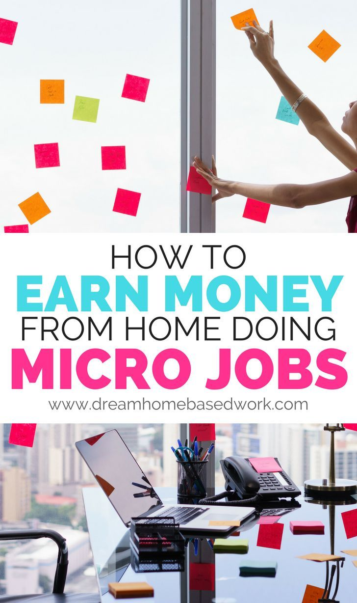 How to Earn Money From Home Doing Micro Jobs Online | Earn money ...