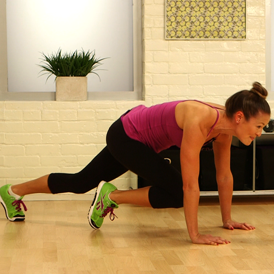 Pilates Chair Mountain Climber: One-Minute Fitness Challenge: Mountain Climbers