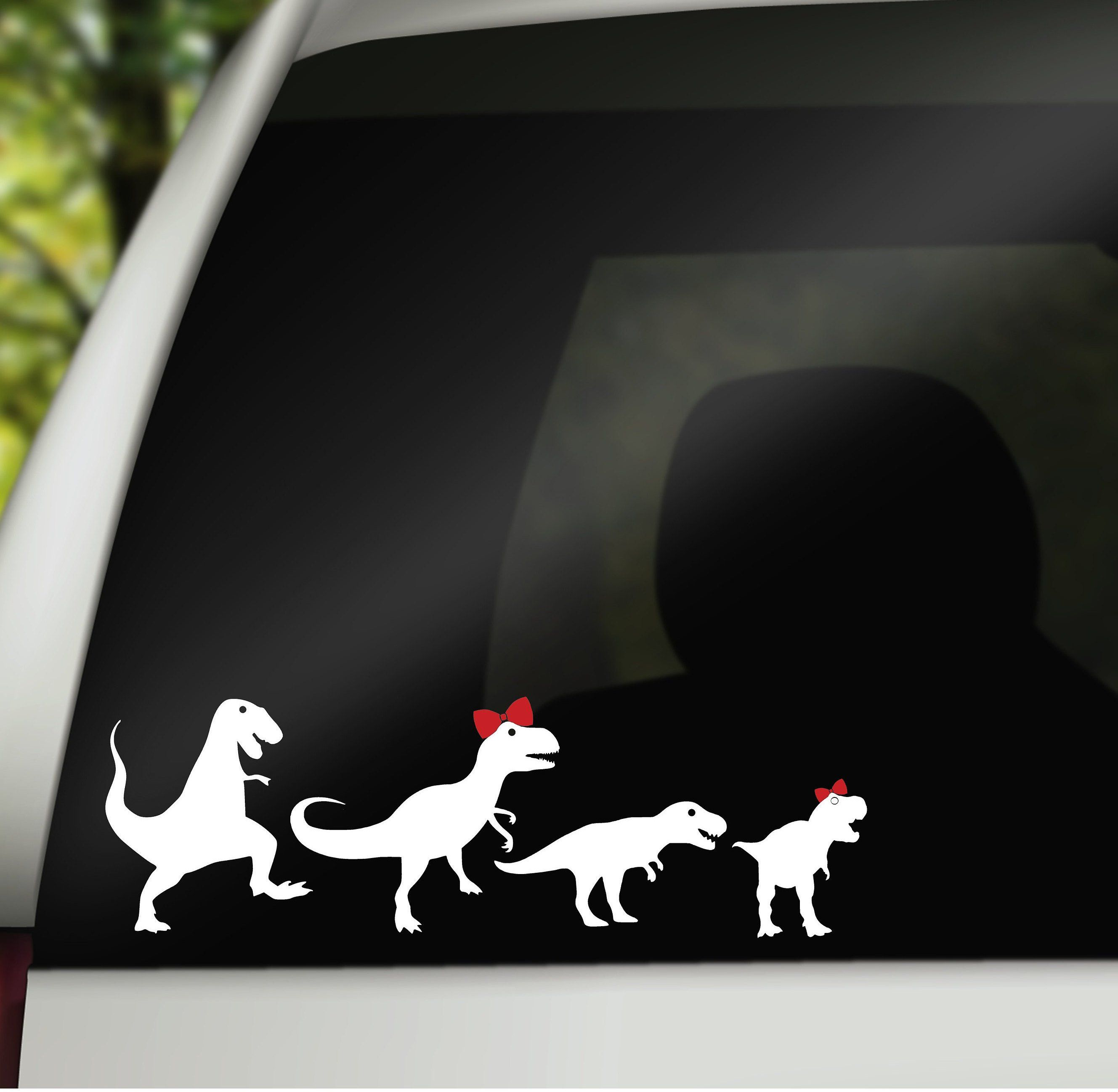 Vinyl Decals Car Family Stickers