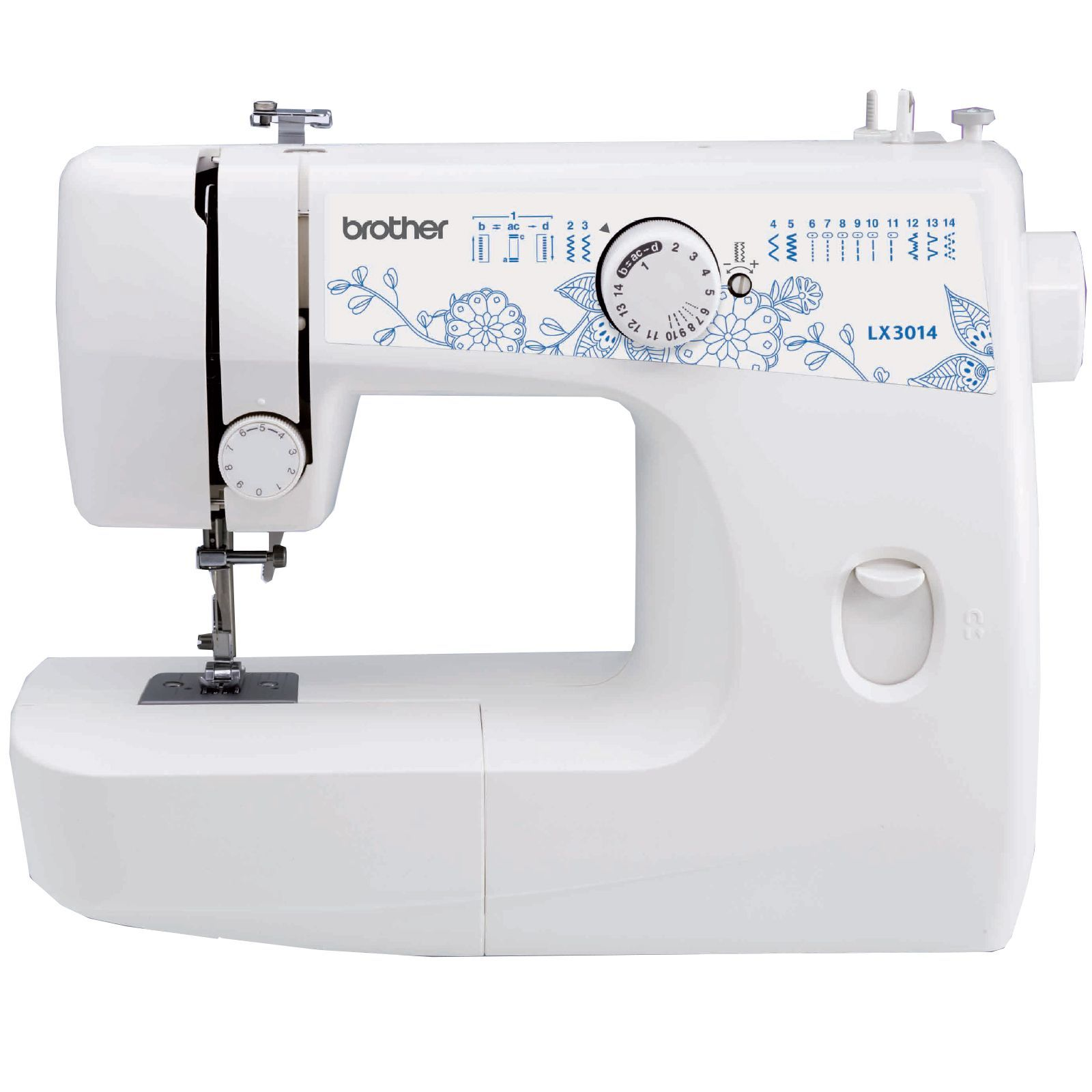 this brother rlx3014 14 stitch sewing machine has been factory rh pinterest com brother xl2610 sewing machine instruction manual Pink Brother Sewing Machine