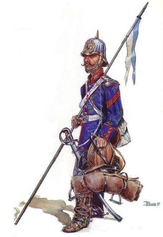 Sagunto 1856-61 Lanceros