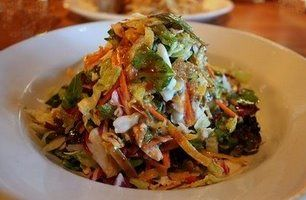 Houston's Grilled Chicken Salad... Life changing.