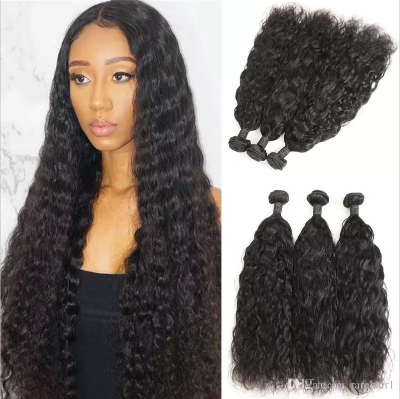 Brazilian Natural Wave Human Hair 3 Bundles 100 Brazilian Remy Hair Weaves Extensions 8 30 9a Grade Straight Weave Hairstyles Weave Hairstyles Human Hair