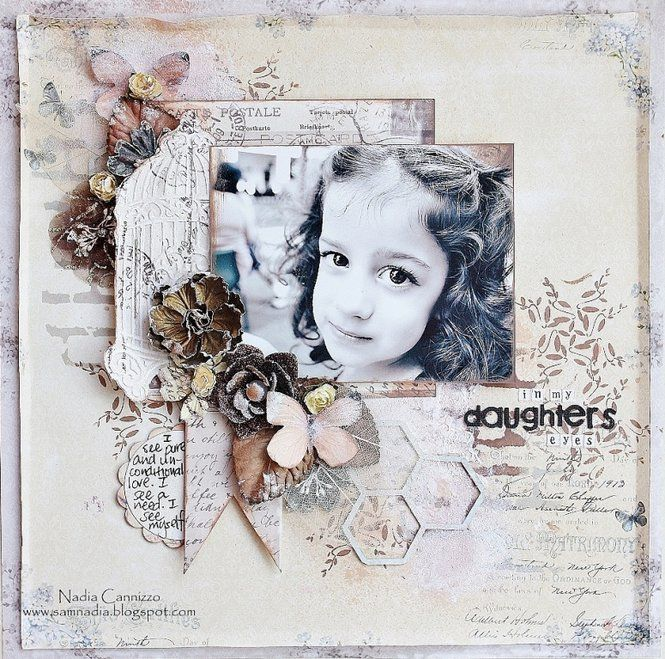 Layout: In My Daughters Eyes *GDT @ Inkido*