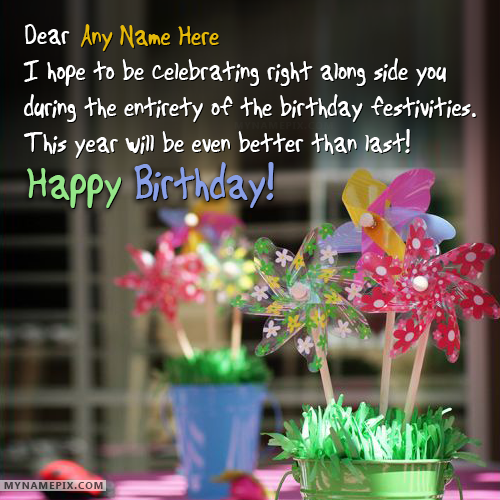 Happy Birthday Wishes By Name ~ Write name on happy birthday wishes with pinterest