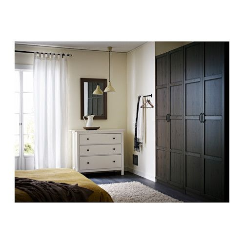 hemnes porte 50x229 cm charni re fermeture silencieuse. Black Bedroom Furniture Sets. Home Design Ideas