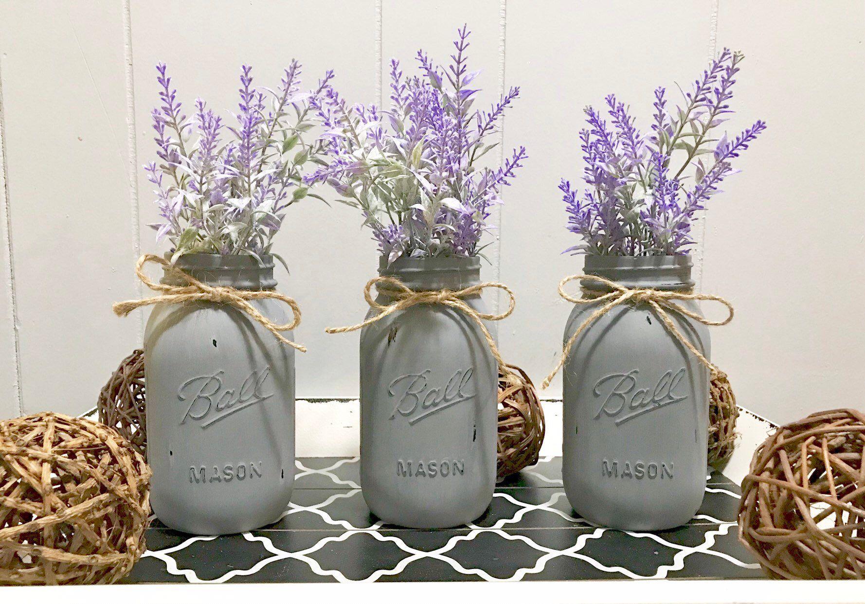 Excited to share the latest addition to my #etsy shop: Mason Jar Centerpiece, Mason Jar Decor, Mason Jar, #housewares #homedecor #entryway #jardecor #masonjar #kitchentabledecor #coffeetabledecor #rusticdecor #homedecorfarmhouse