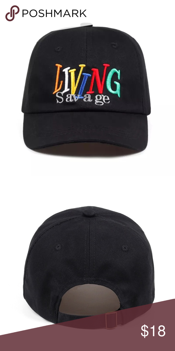 best service e29de 8ad65 Dad hat COMING SOON ✅ Embroidered Living Savage in front. Adjustable back.  Shipping delayed by 2 weeks. No trades! Unisex Accessory Accessories Hats