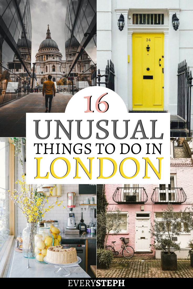 16 Unusual Things to do in London #travelengland