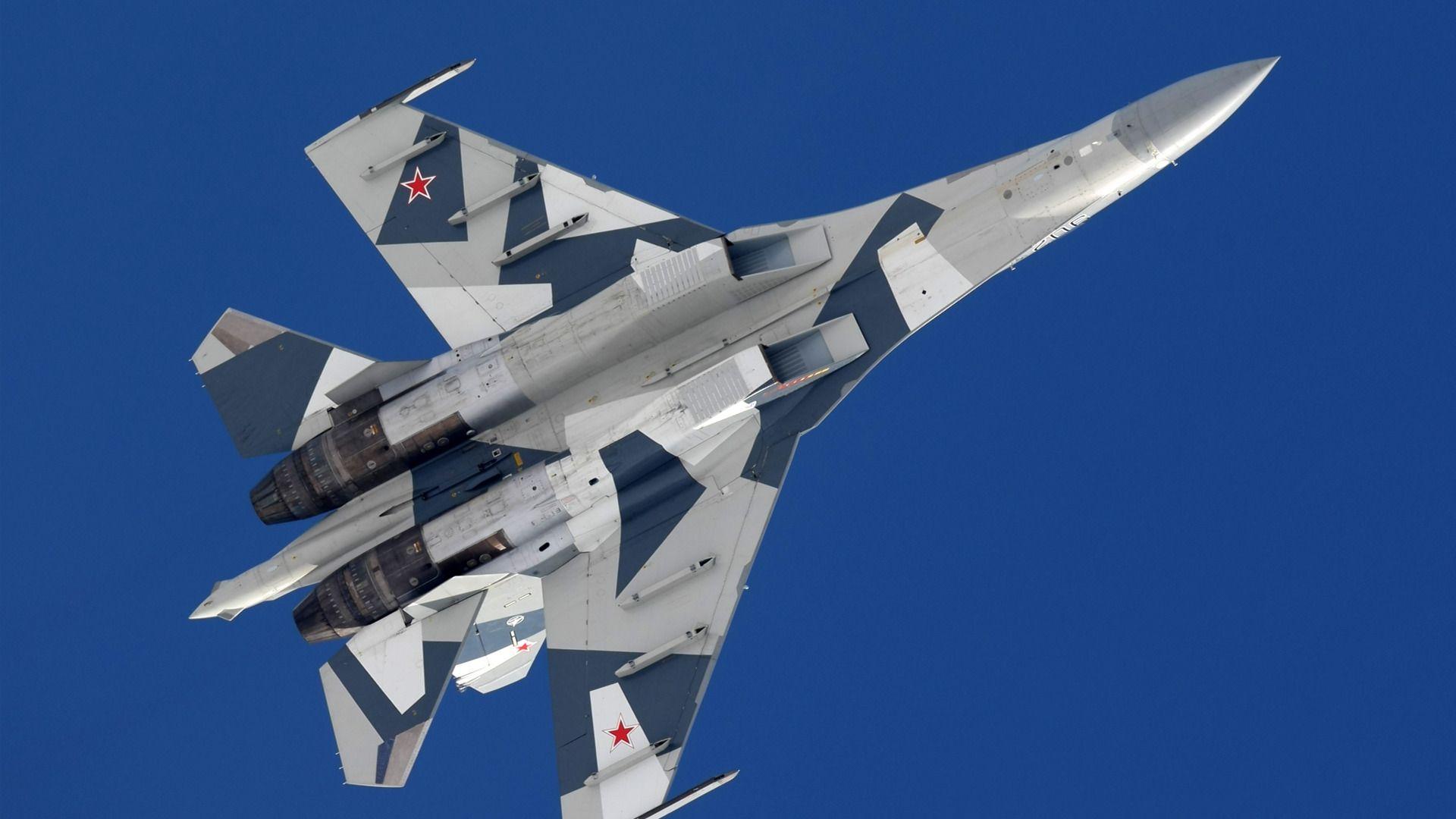 Обои Su-35S, Самолёт. Авиация foto 12
