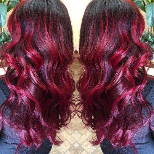 Image Result For Splat Midnight Ruby Hair Styles Red
