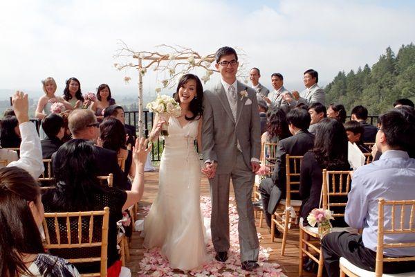 Michelle And David S Soft Vintage Wedding At Auberge Du Soleil Ruffled