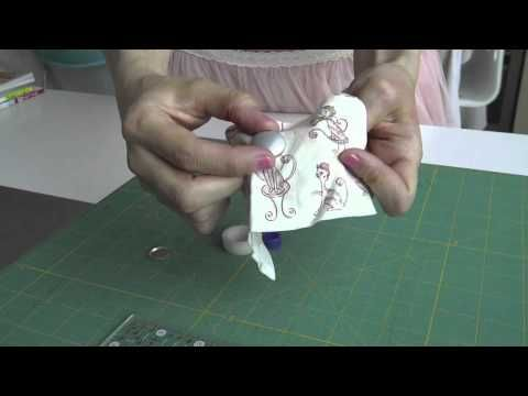 Living the crafts Tutorial como Forrar Botones. Español