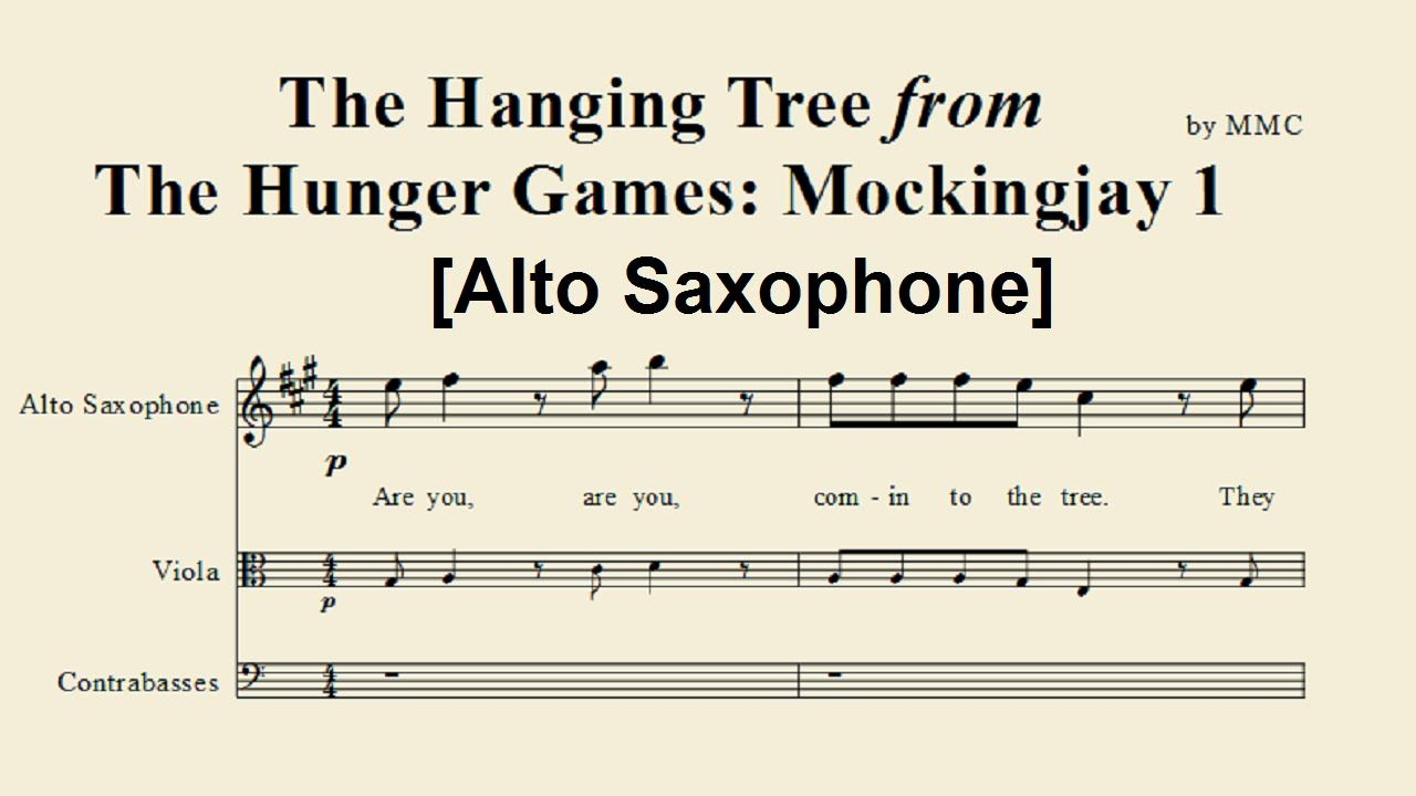 The Hunger Games Horn Of Plenty For Alto Sax Google Search With