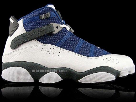 22d82116291ac2 Air Jordan Six (6) Rings - White - Flint Grey - French Blue -  SneakerNews.com