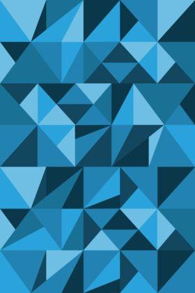 Iphone Wallpaper Blue Triangle Geometric Wallpaper Iphone Iphone Wallpaper Creative Iphone Wallpapers