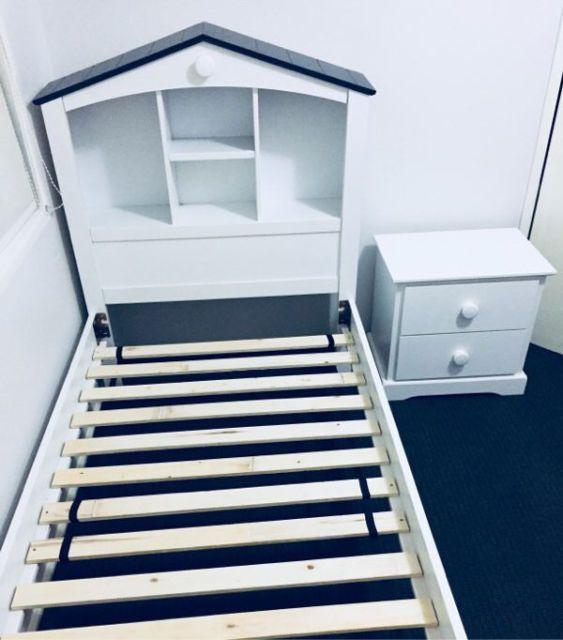 White King Single Bedroom Suite, Bed, Side Tab, Dressing ...