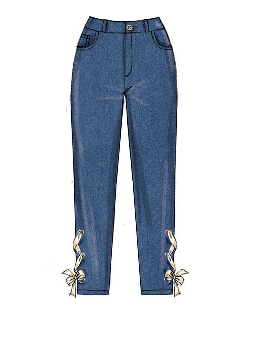 Photo of M7814 | Sewing Patterns for Women's / Women's Pants | McCall's pattern   – Sewin…