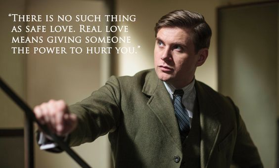 Tom Branson Quote Downton Abbey Series Downton Abbey Quotes