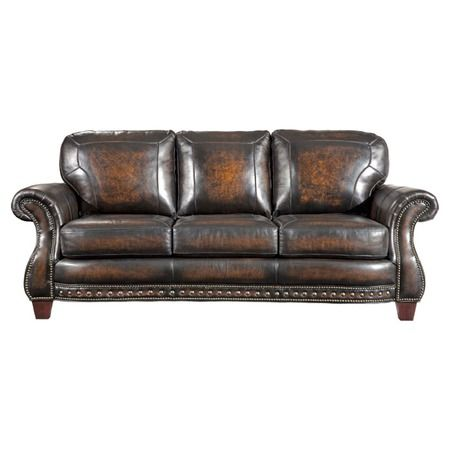 I Pinned This Broyhill Stetson Leather Sofa From The Artist In Focus: Ansel  Adams Event At Joss And Main! 1120.95