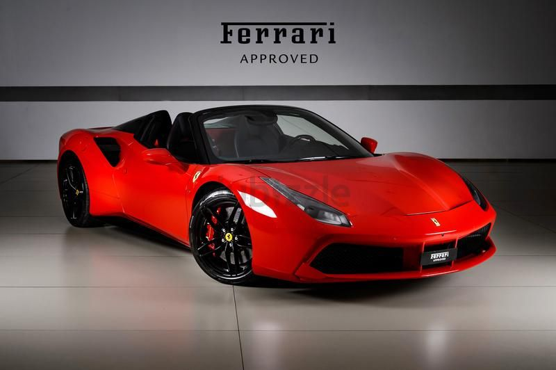 Ferrari 488 Spider 2017 Al Tayer Motors Ferrari Approved Vehicle Dubizzle Ferrari Cars For Sale Used Ferrari 488