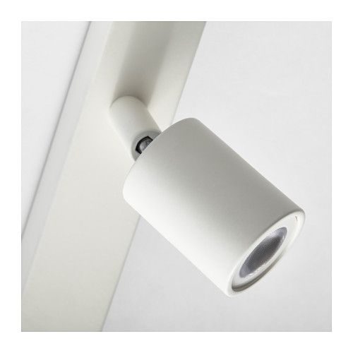 Len Schienensystem Ikea bäve led ceiling track 3 spots white ceiling lights and hardware