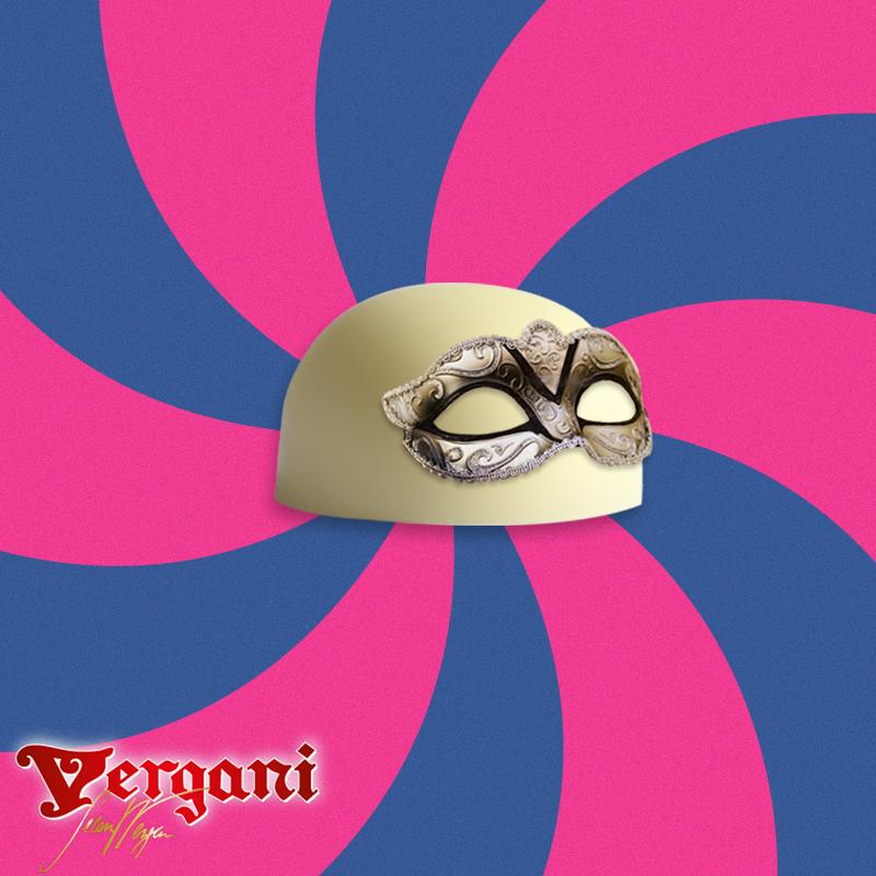 Cioccolato mascherato! Carnevale.