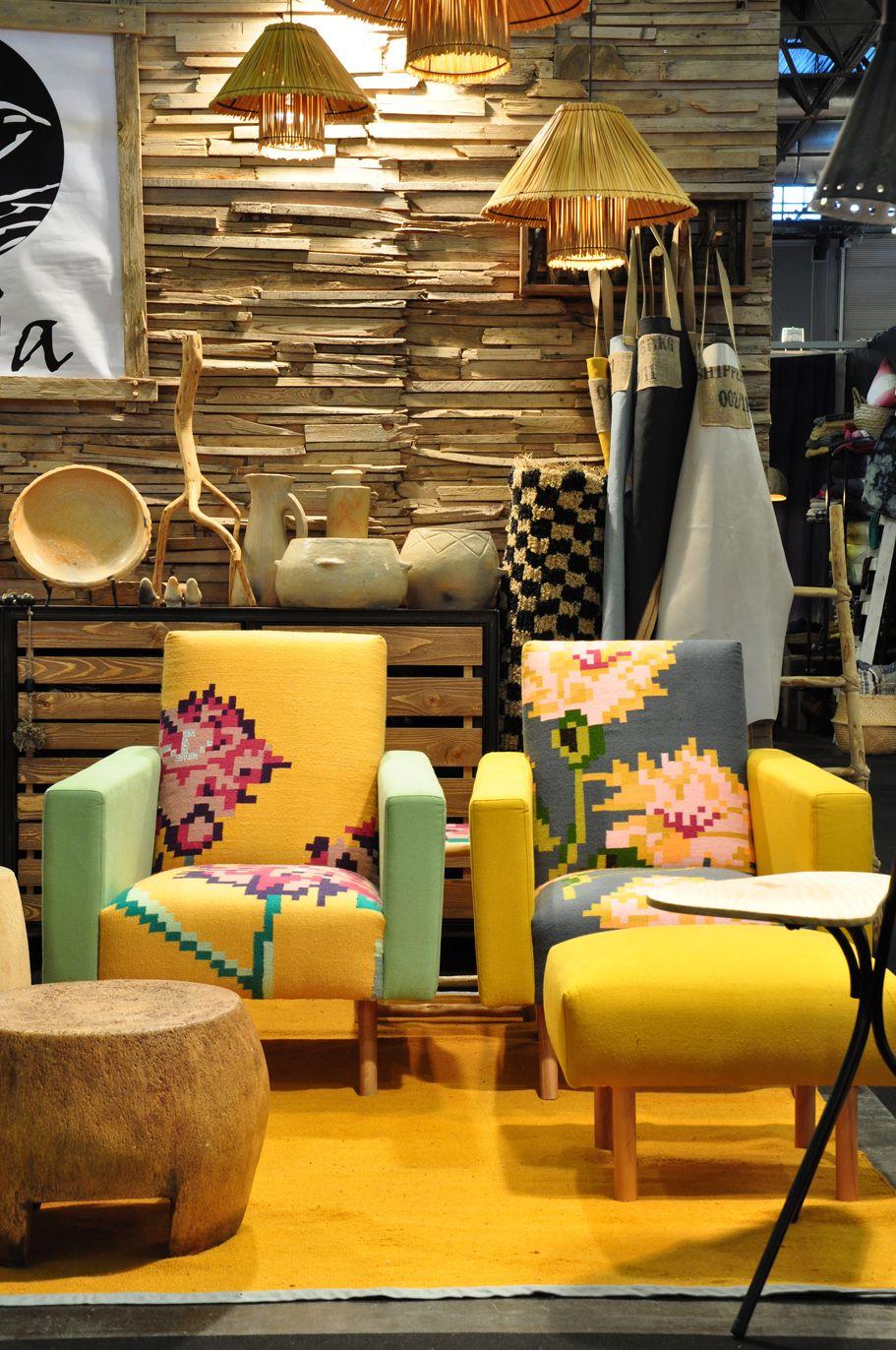 tinja maison et objet paris tinja handcrafted made in tunsia. Black Bedroom Furniture Sets. Home Design Ideas