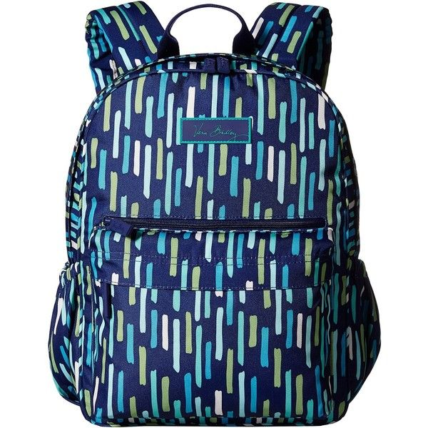 b94c2a948d Vera Bradley Lighten Up Just Right Backpack (Katalina Showers)... ( 48) ❤  liked on Polyvore featuring bags