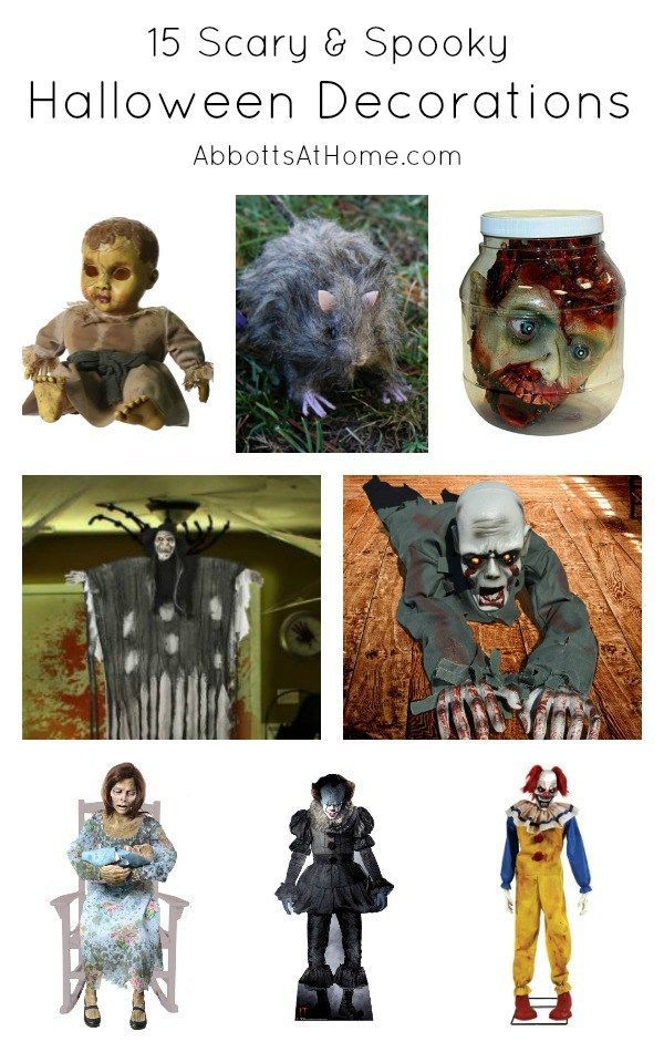 Really Spooky  Scary Halloween Decorations, 2017 Scary