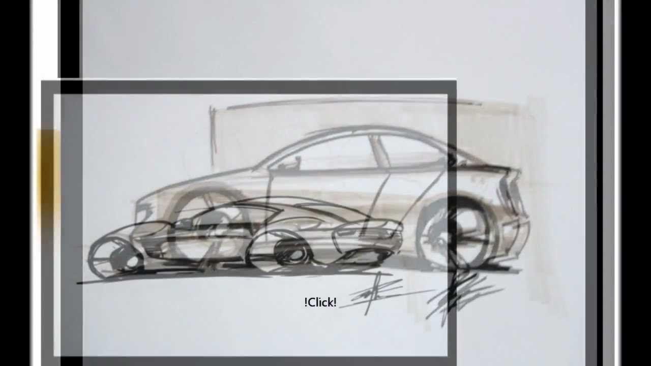 Car Drawing 2D Sketch/ Photoshop | pho2shop | Pinterest | 2d and ...
