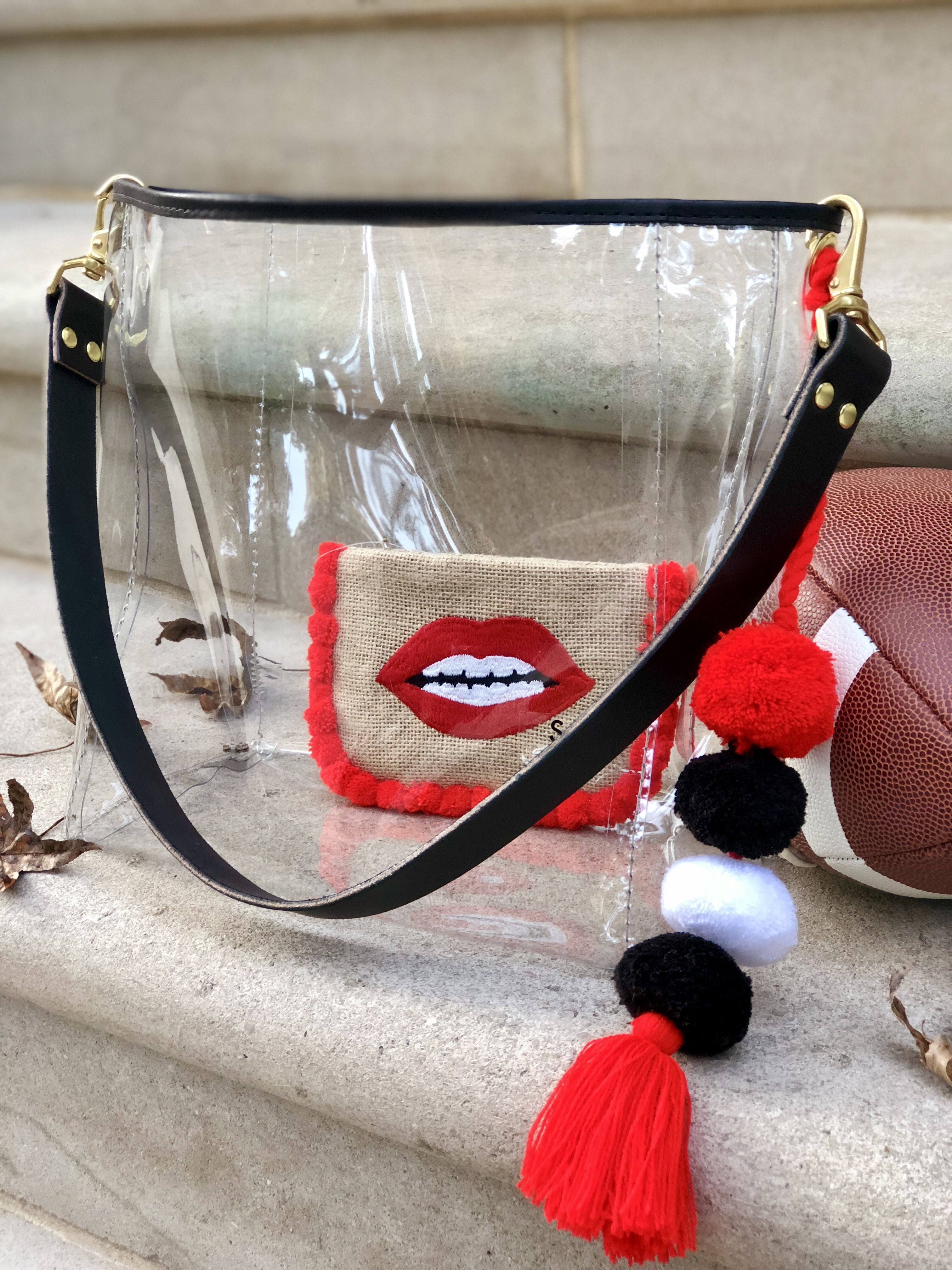 4a3443f1fe2c Clear bags. Stadium approved.