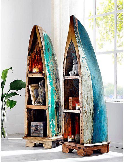 die besten 25 bootsregal ideen auf pinterest. Black Bedroom Furniture Sets. Home Design Ideas