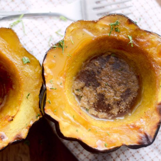 Roasted Acorn Squash 02humb1 With Images