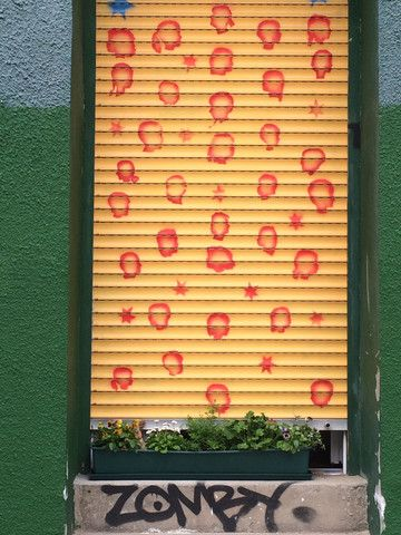 urban kraut's #GreenFavs #Zombykraut seen @ Ruppinger Straße, Berlin Gewinnspiel @ facebook.com/urbankraut