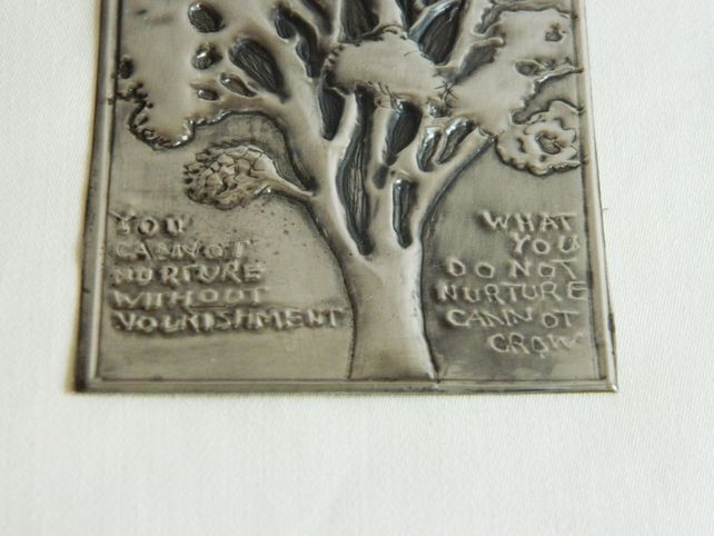 One Day Sale Embellishment Pewter Plaque book cover card makers scrapbookers £2.40