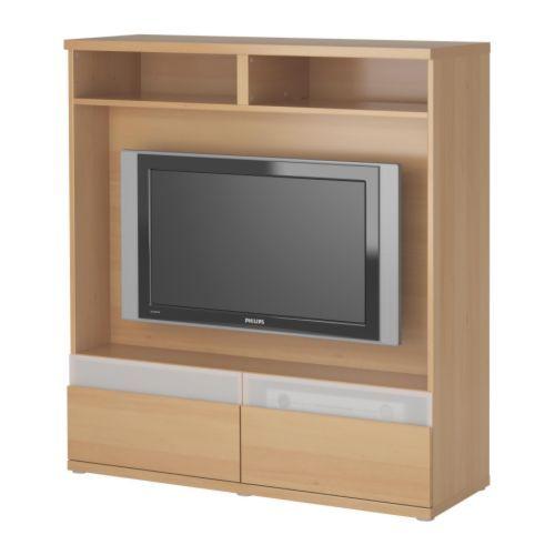 BESTÅ BOÅS TV storage unit - beech effect - IKEA This is the one I - tv grau beige