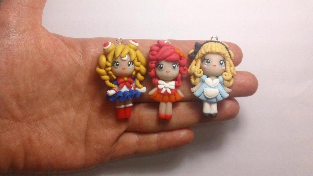 Sailor Moon Fimo   Bamboline In Fimo