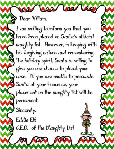 Dear Santa   I Can Explain  Persuasive Writing Dear Santa And